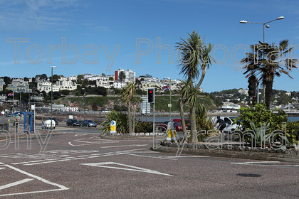 Torquay seafront - traffic
